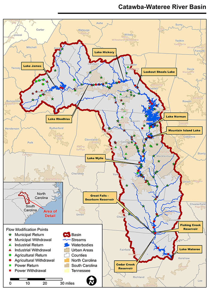 Catawba-Wateree River Basin